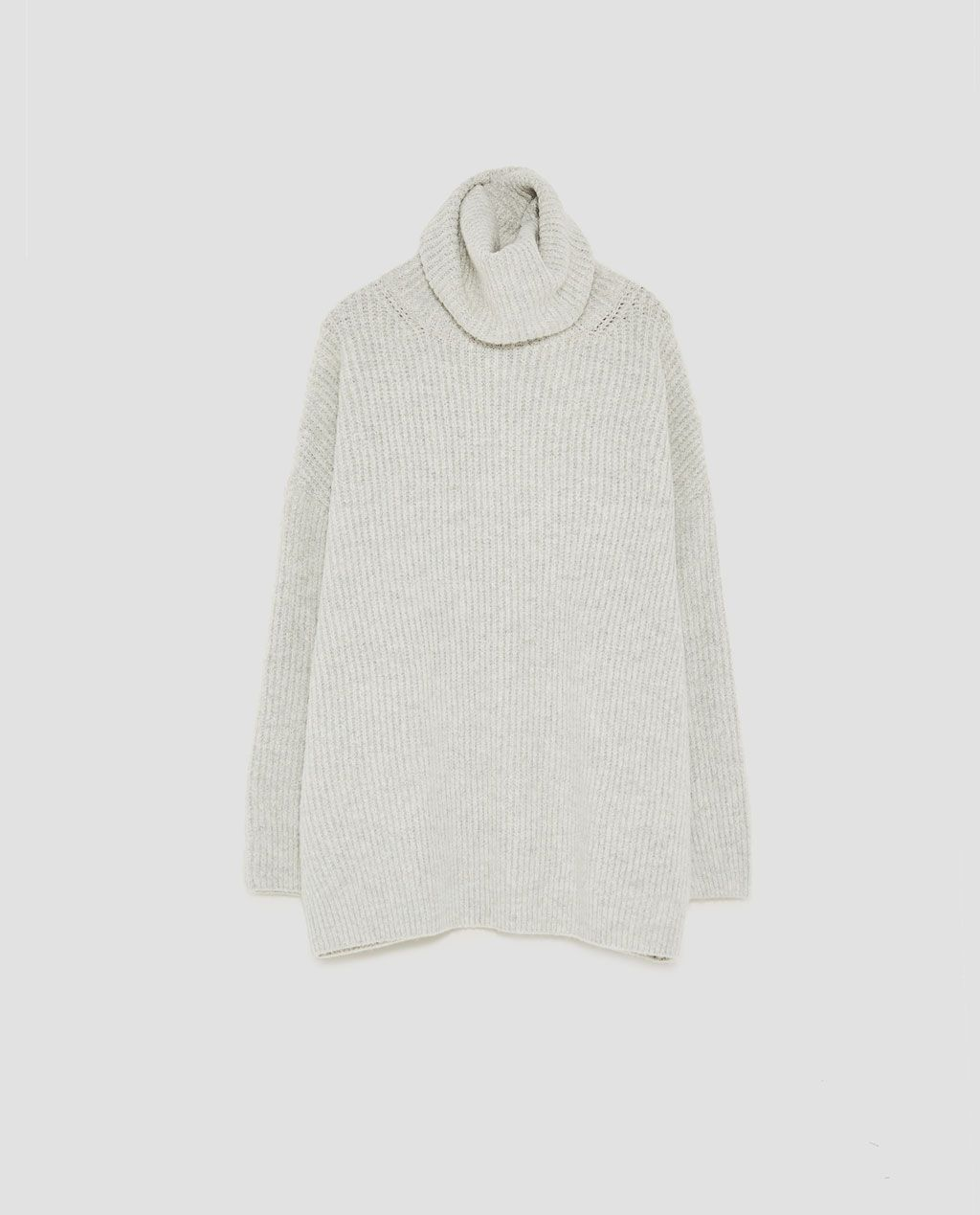 314d9056 Image 8 of OVERSIZED ROLL NECK SWEATER from Zara | clothes in 2019 ...