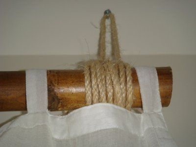 Bamboo Curtain And Bamboo Curtain Rod Set Amazon Home Kitchen