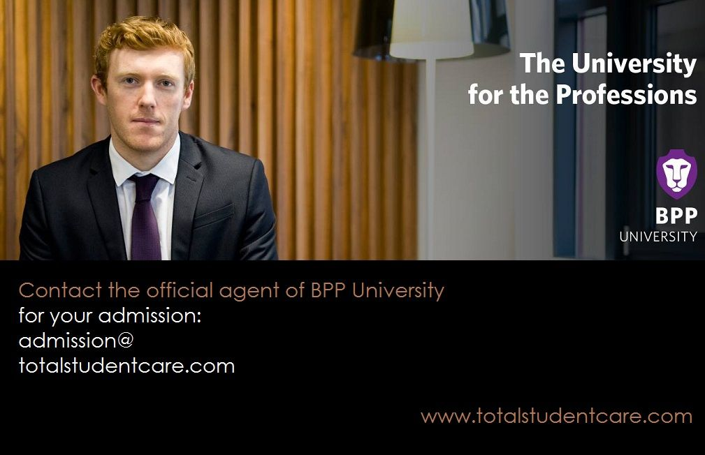 Contact the bpp university uk official agent total