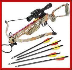 Ballesta De 150 Lbs 7 Flechas Mira Telescopica Arco Caceria 4 132 00 Hunting Guns Crossbow Bow Hunting