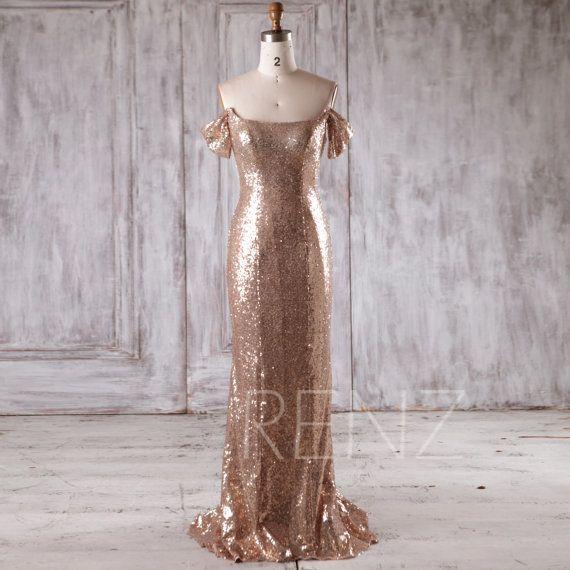 Gold Scoop Neck Dress