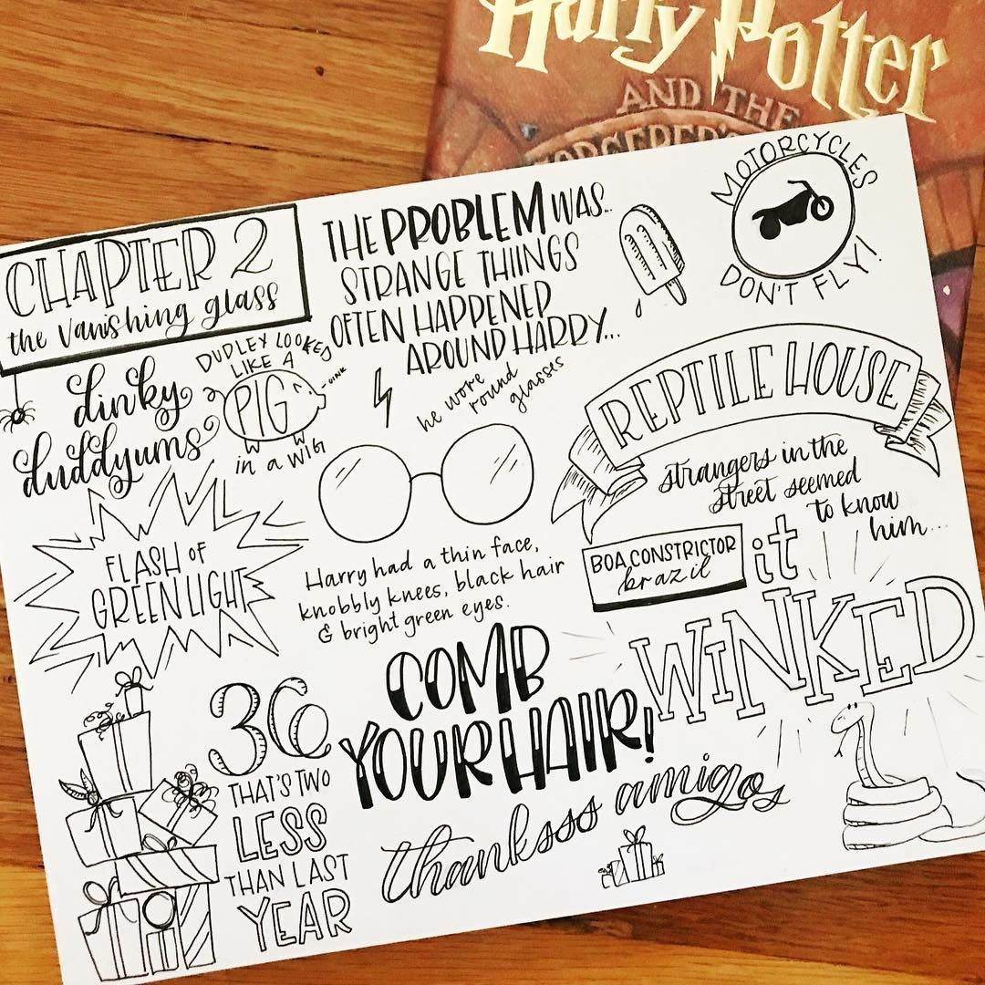 Here S Another Journaling Session For Harry Potter I Feel A Bit On A Roll So I Got A Few Made Up In Chapter 2 Of The Sorcere Doodle Pages Doodles Journal