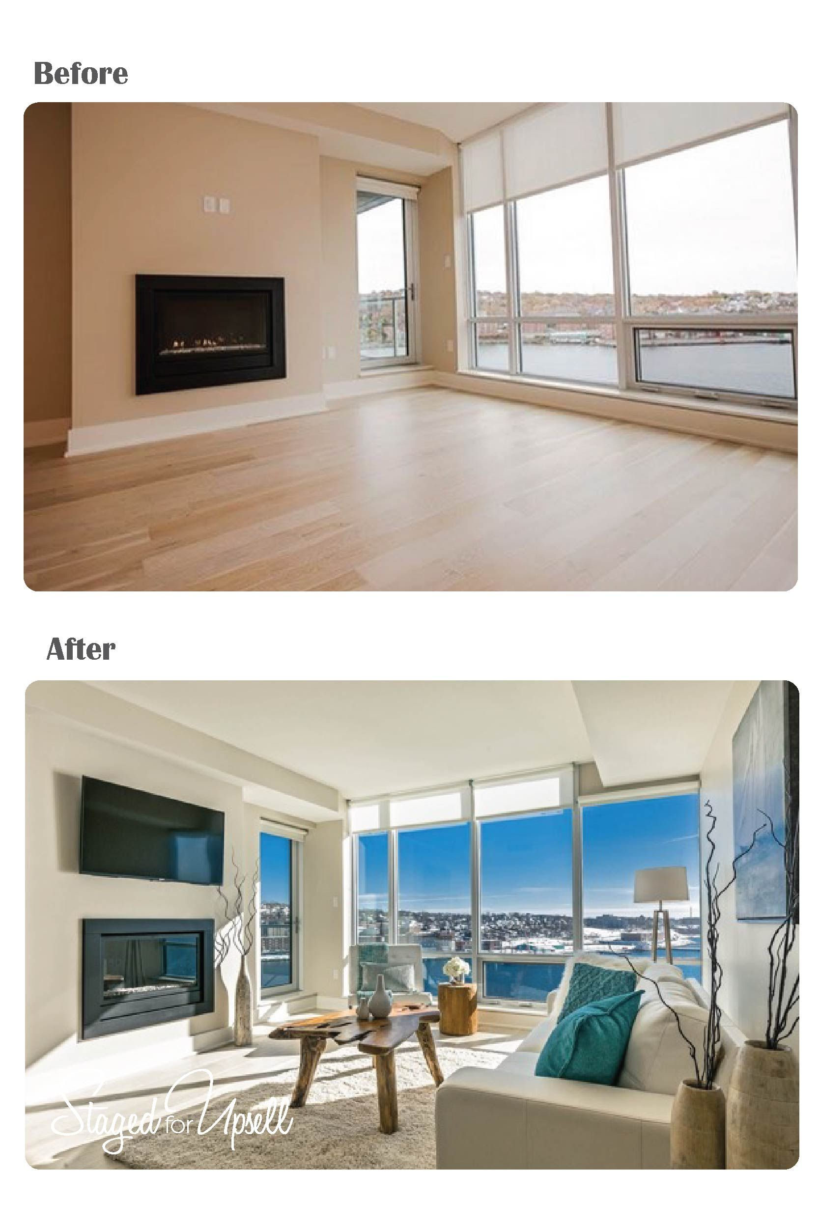 Before and after vacant staging 1 homes things in 2018 pinterest homestaging and salon - Home staging salon ...