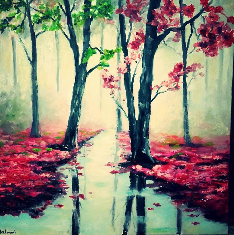 Autumn With Love طفرة جوز Art Painting Autumn