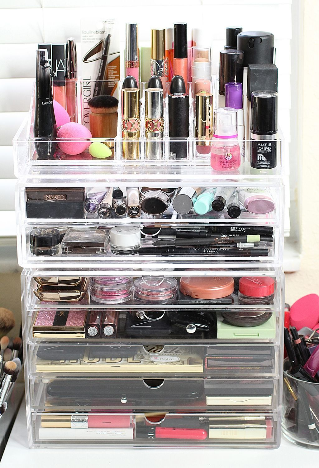40+ Fancy Make up Storage Ideas (With images) Makeup