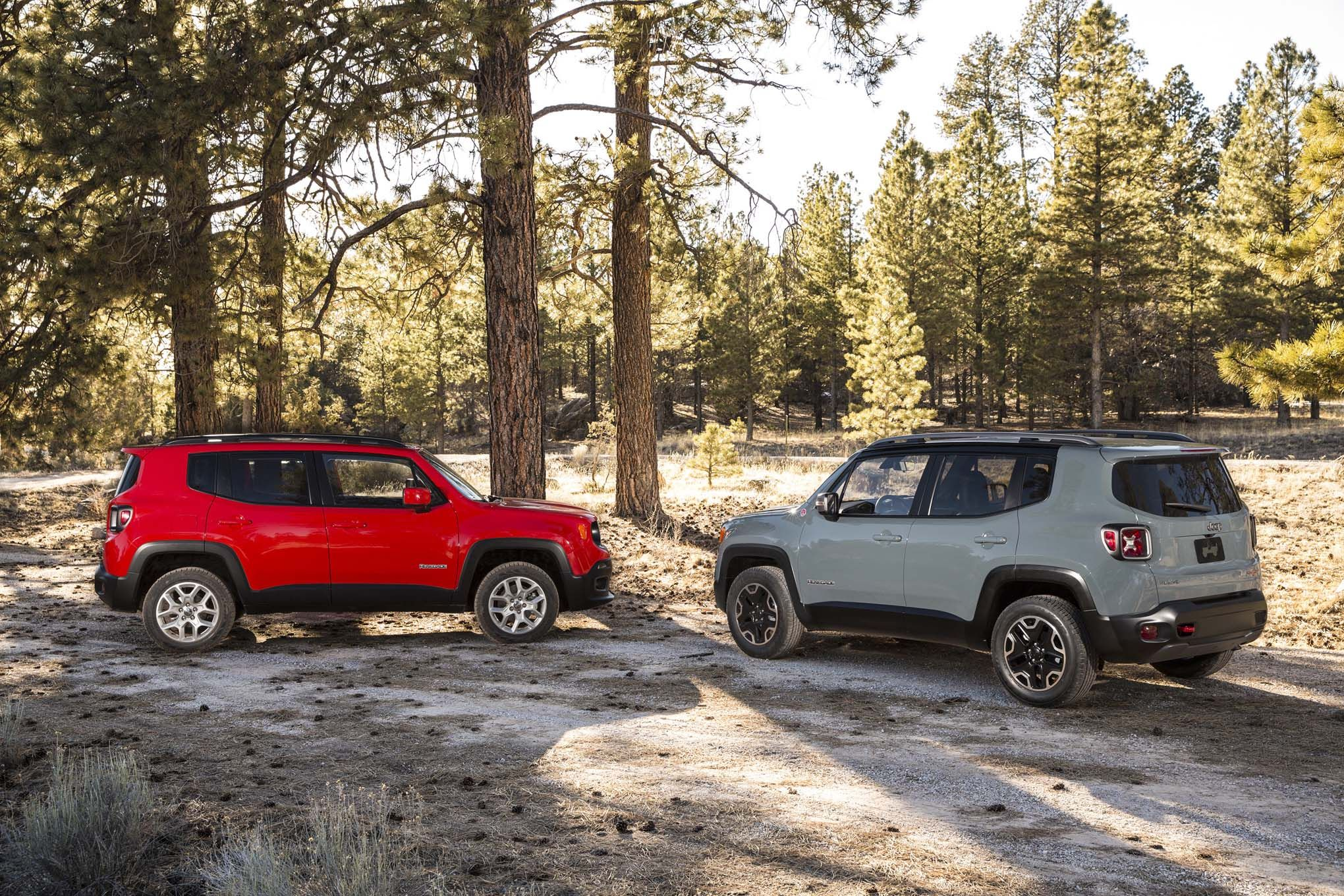 Jeep Renegade Trailhawk And Latitude Hd Wallpaper 2015 Jeep