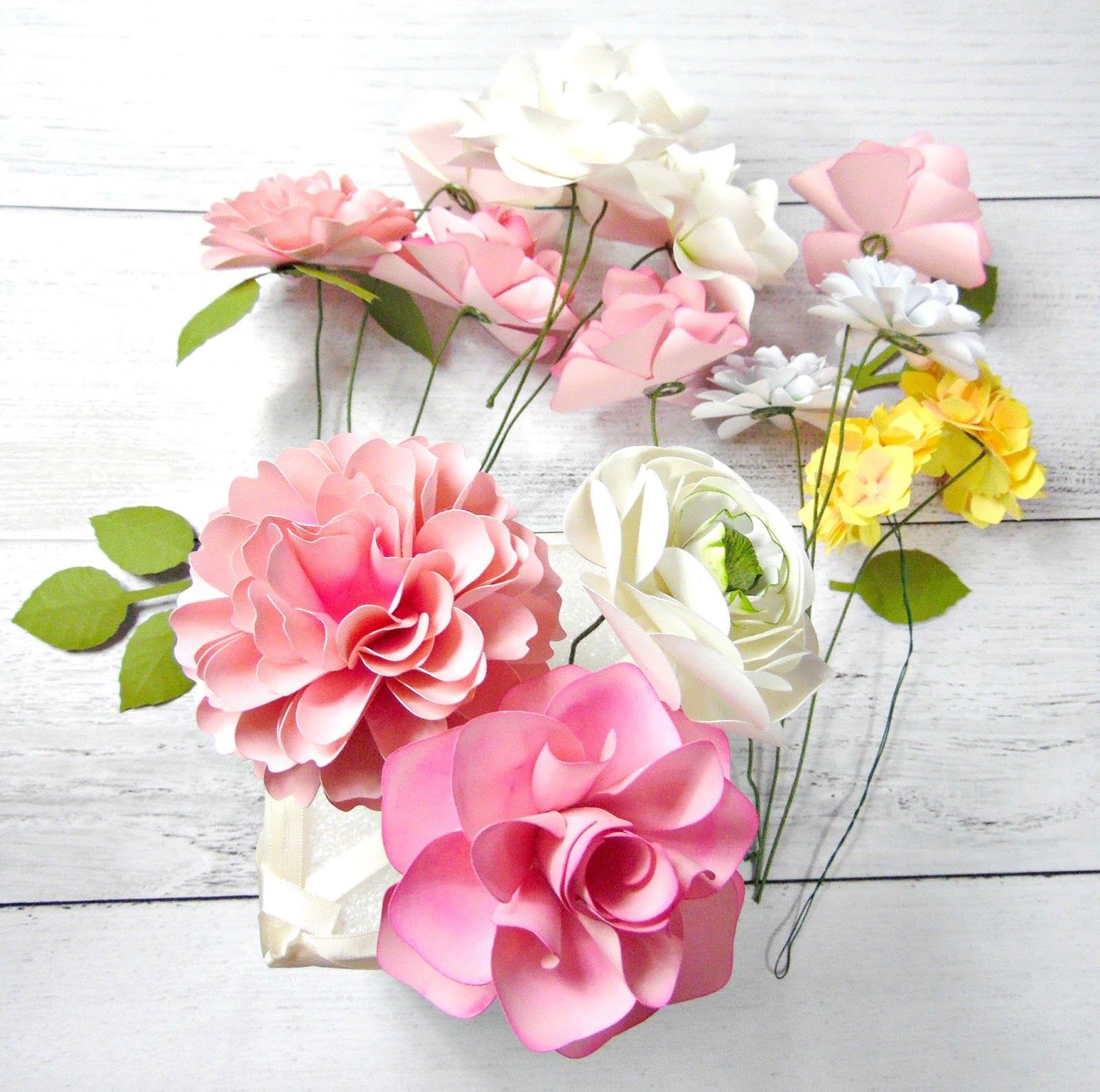 Diy Paper Flower Arrangement Budget Wedding Ideas If Your A Bride