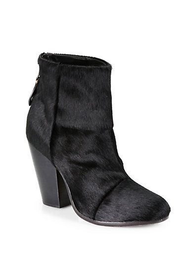 Rag & Bone Ponyhair Ankle Boots clearance outlet locations finishline cheap price cheap fake sale online store nicekicks nX3bE