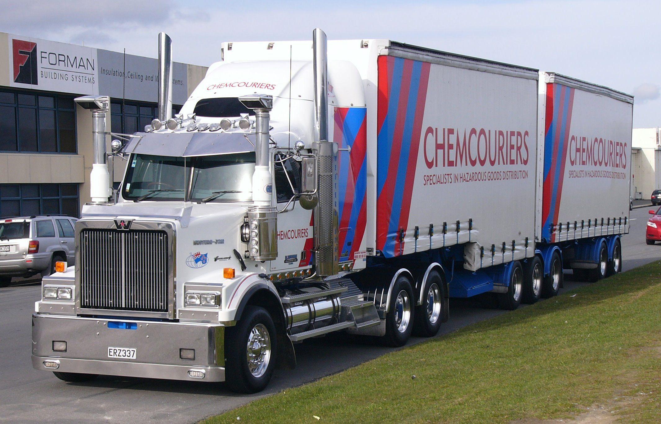 Trucking Western Star Trucks Train Truck Trucks