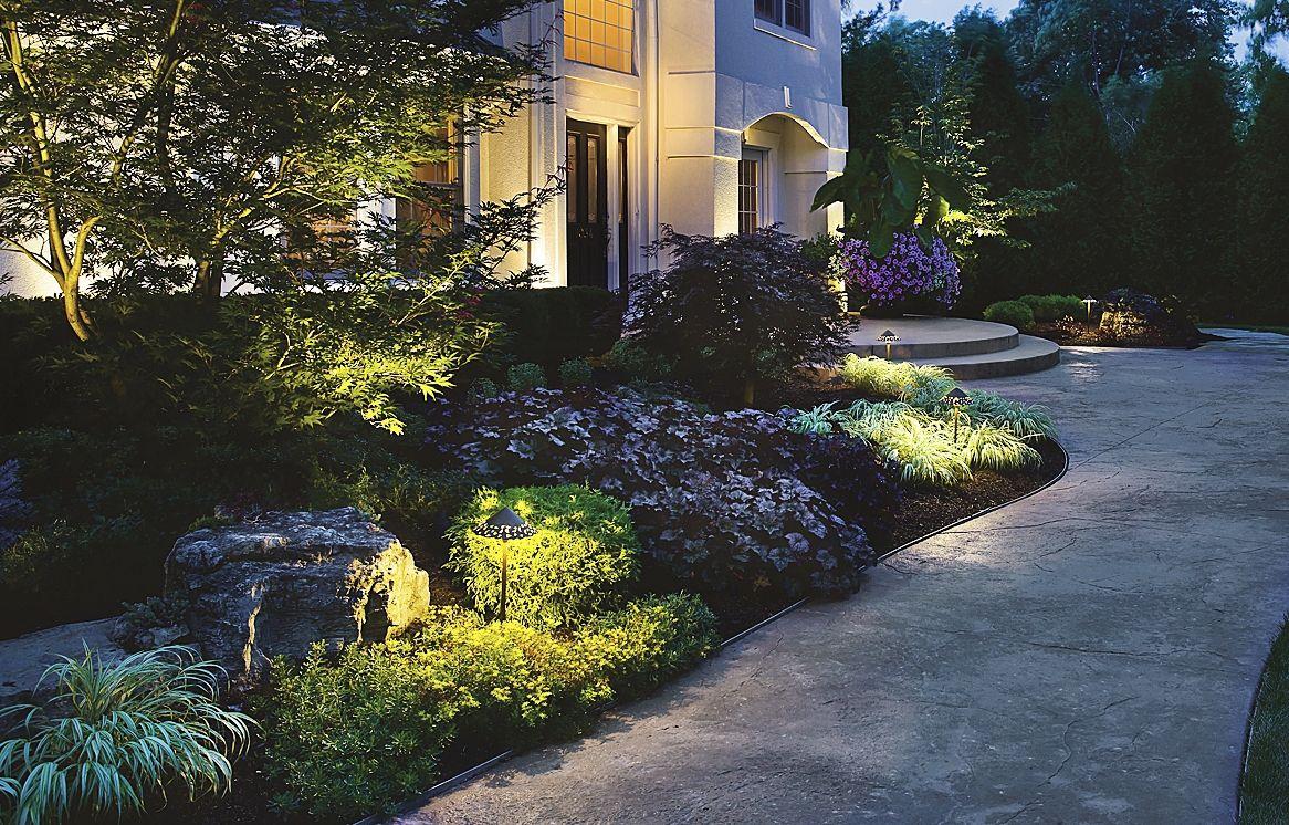 5 Creative Design Ideas For Outdoor Lighting Landscape Lighting Outdoor Lighting Pretty Gardens