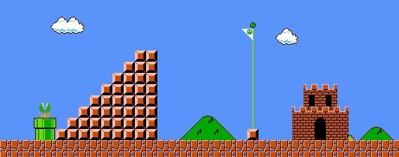 8 Bit Mario Background Original Mario Bros Super Mario