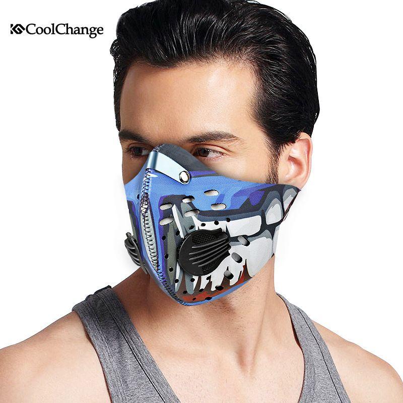 Half Face Bike Mask Windproof Anti Haze Dust Face Cover Running