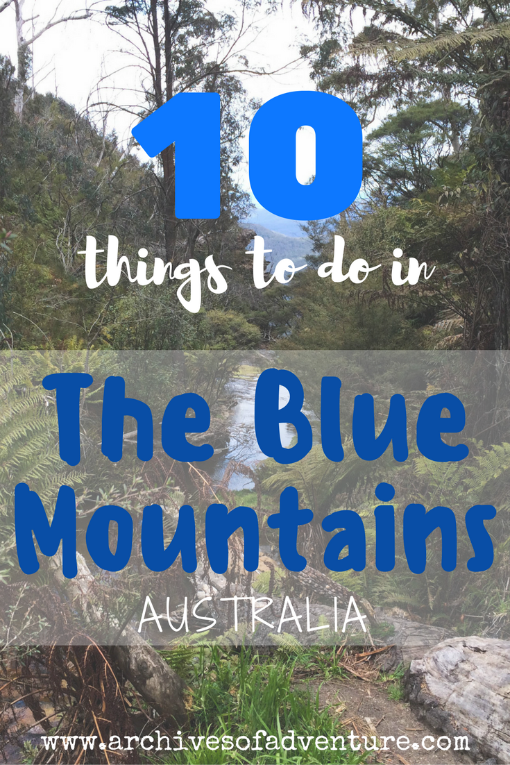 blue mountain travel guide