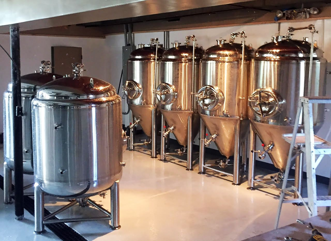 Beautiful Display Of Our Pro Brewing Equipment At Work At The Conny Creek Cellar Beer Brewing Equipment Home Brewing