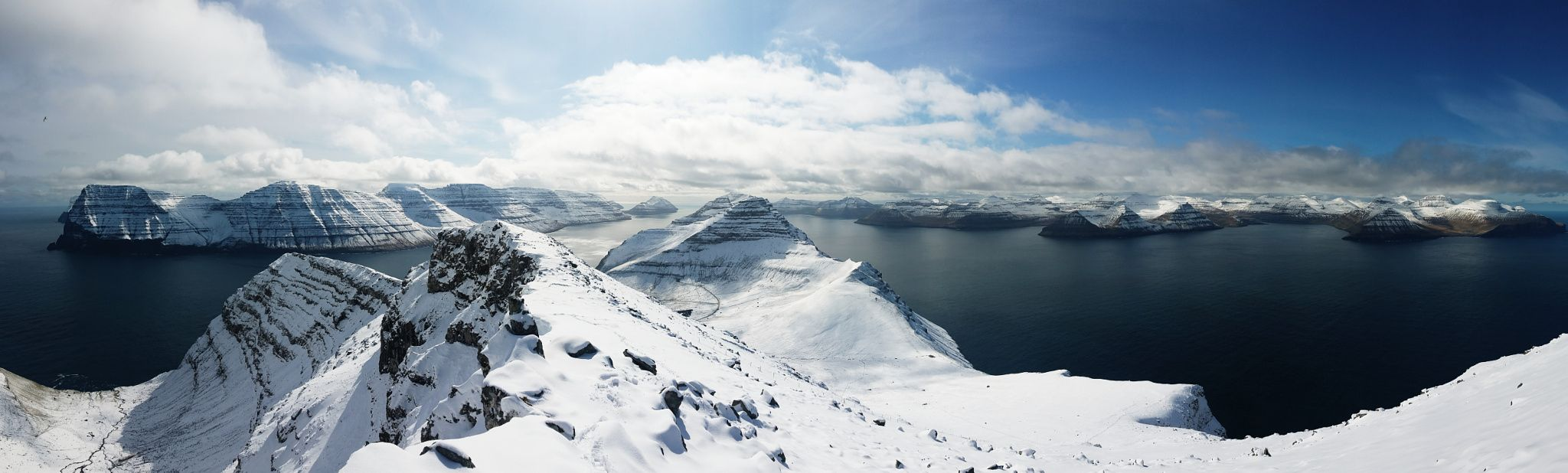 Kalsoy from Nestindar - Faroe Islands by Simon Dubreuil #travel #landscape #nature #faroeislands