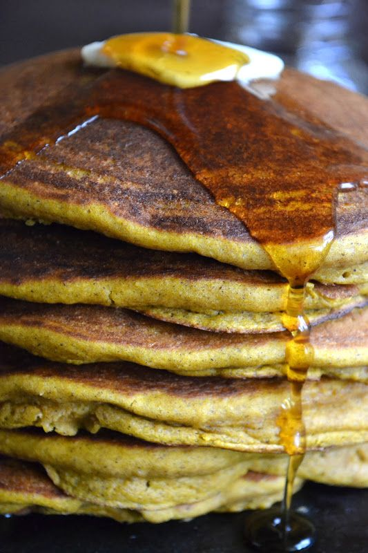 Seven Grain Pumpkin Pancakes - The View from Great Island