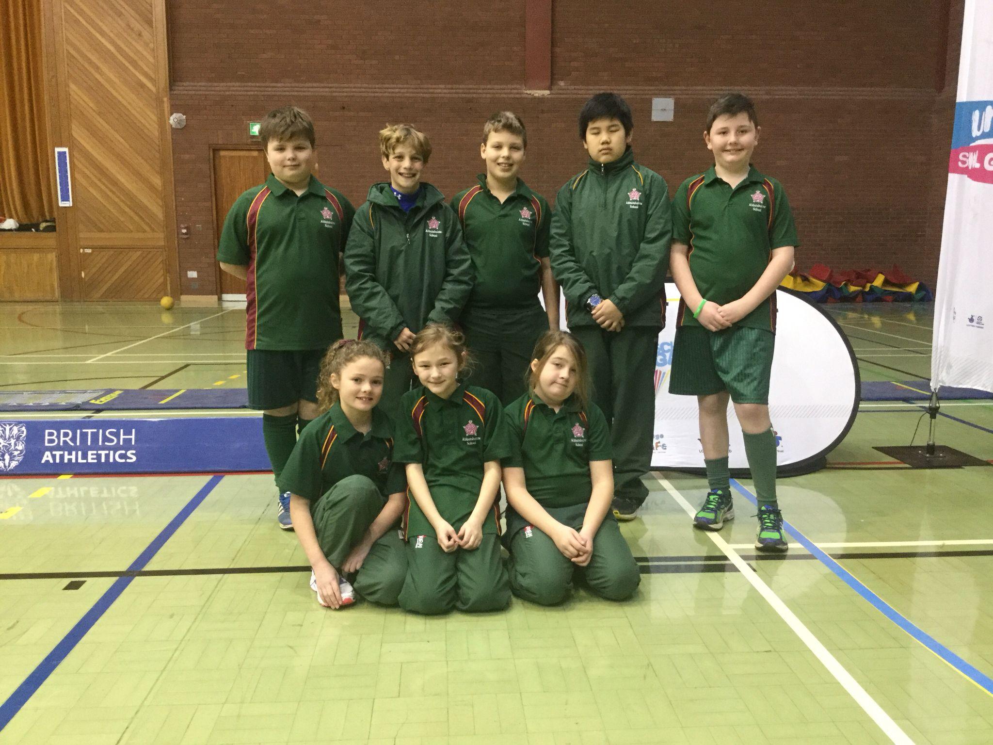 Some members of the prep school indoor athletics #indoorathletics #abbotsholmeschool