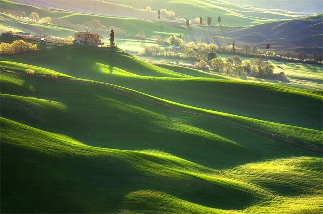 Idyllic Photographs Of The Tuscan And Morovian Landscapes By - The mesmerising beauty of moravian fields photographed by marcin sobas