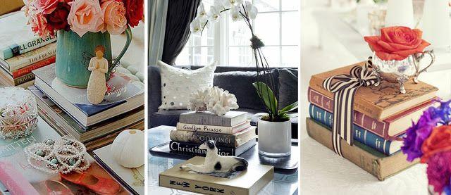 Tati ViNog: Livros na Decoração