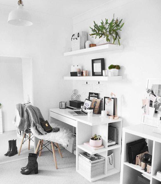 10 Minimal Workspaces to Inspire - Office Desk - Ideas of Office Desk #OfficeDesk - Minimal workspace interior design #interiorgoals #minimalinterior #interiordecor #workspace