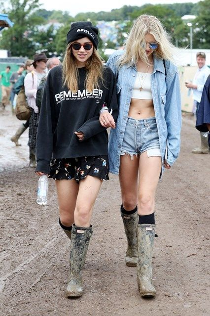 From Adele and Alexa Chung to Cara Delevigne and Suki Waterhouse – see the  celebrity photos and festival fashion from Glastonbury festival. 89820255b0
