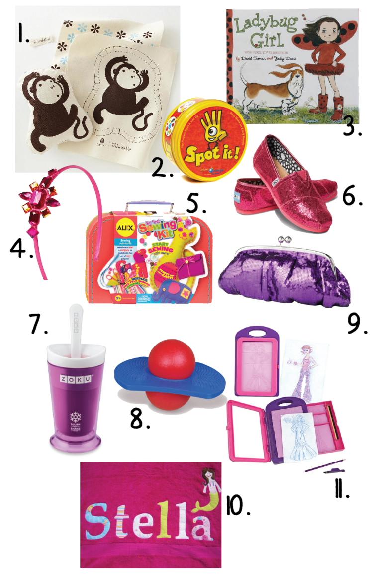 Great Ideas For Little Girls Birthday Gifts 5 7 Years Old Most Under 20
