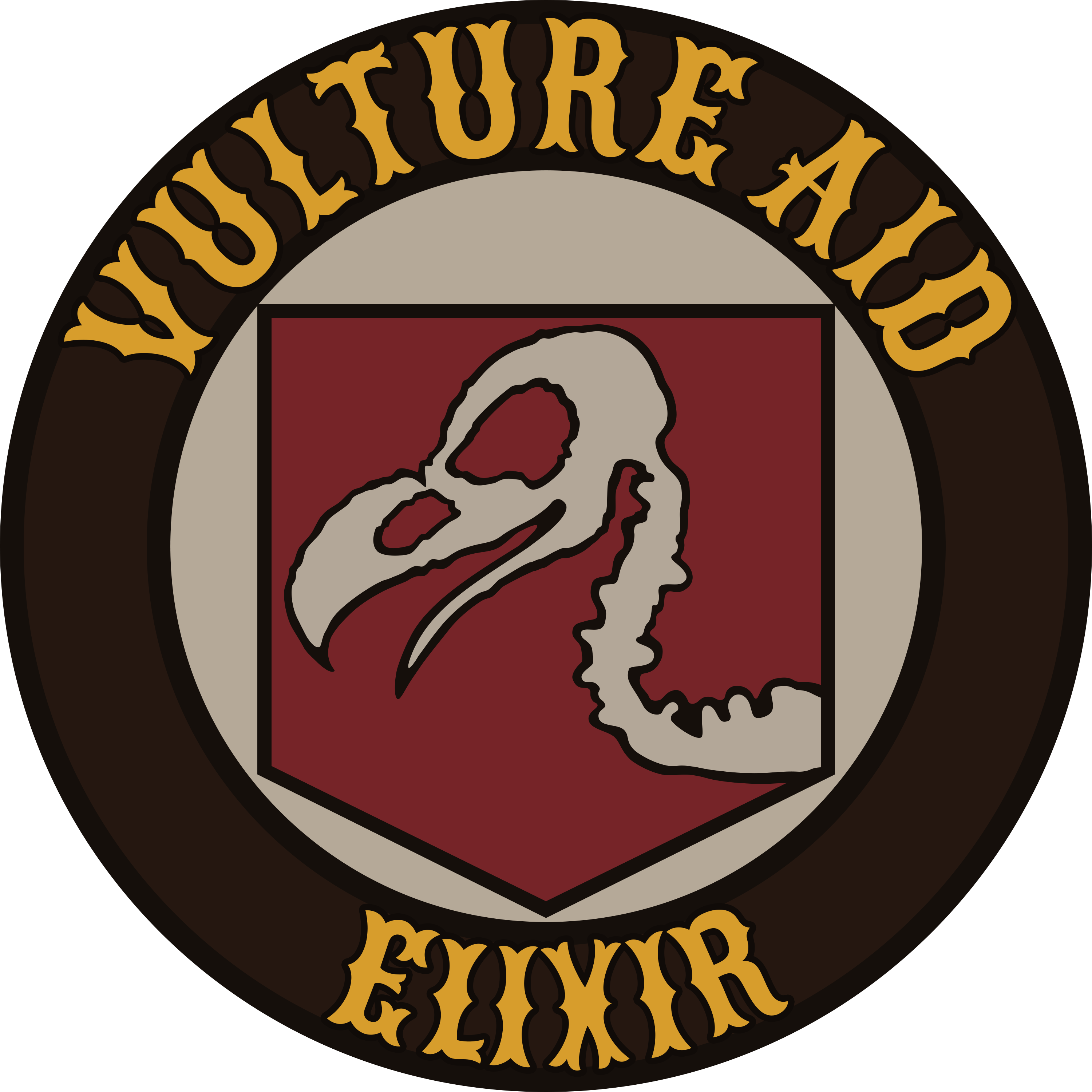 Vulture Aid Elixir Logo From Treyarch Zombies 3000x3000