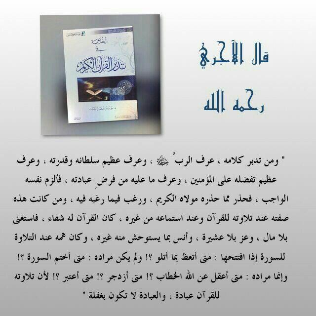 تدبر القرآن الكريم Islam Islam Quran Polaroid Film