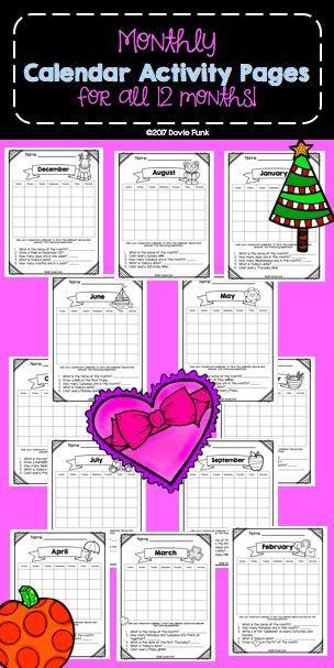 worksheet: Calendar Math Worksheets First Grade Free. Calendar ...