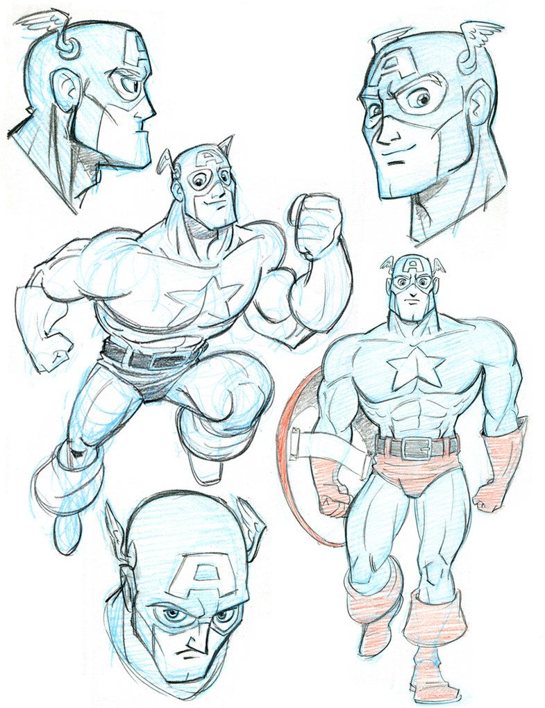 Captain America attempt #86 by tombancroft