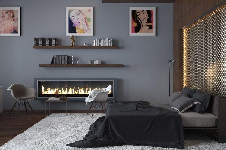 40 Masculine Bedroom Ideas Inspirations Man Of Many Modern Bedroom Design Grey Bedroom Design Stylish Bedroom Design