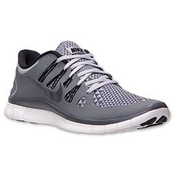 online store 1c075 f8545 ... 50% off mens nike free 5.0 premium running shoes finishline wolf grey  black cool grey