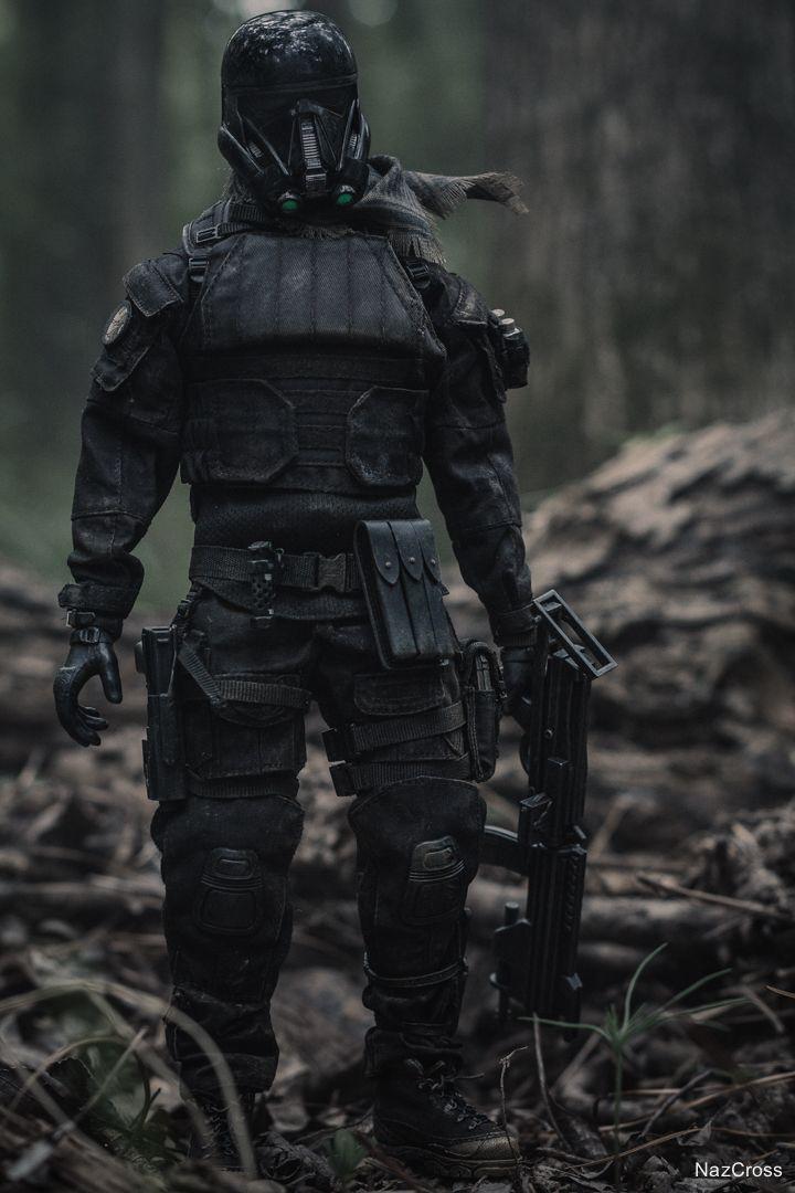 "1//6 Scale Black Model Tactical Bulletproof Vest Top for 12/"" Action Figure Toy"