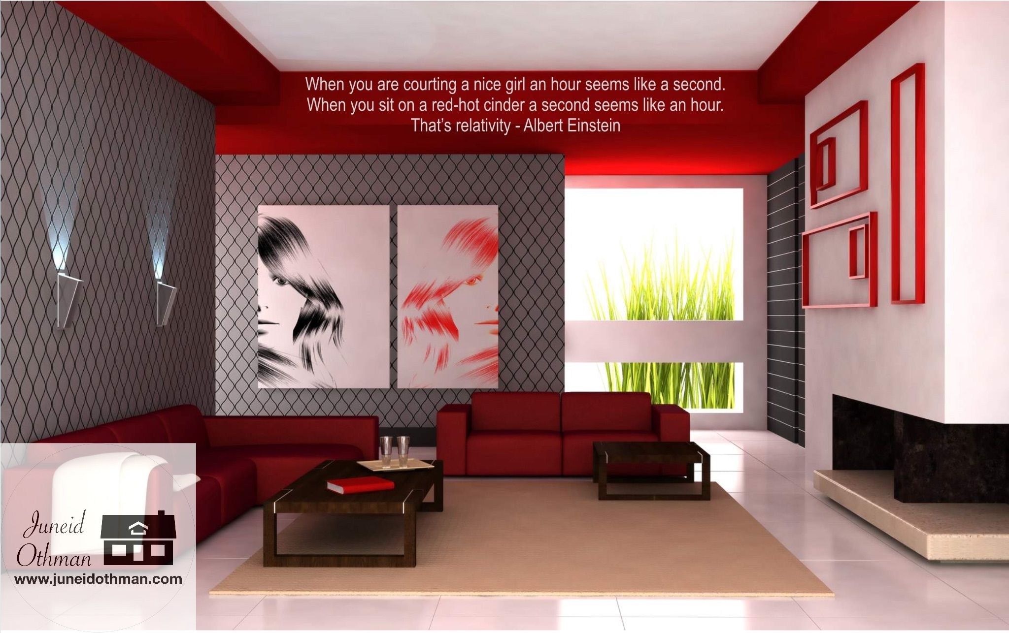 When You Start Doing Things You Love There Will Never Be A Dull Moment Because Work Will Not B Paint Colors For Living Room Living Room Red Living Room Colors Red modern living room
