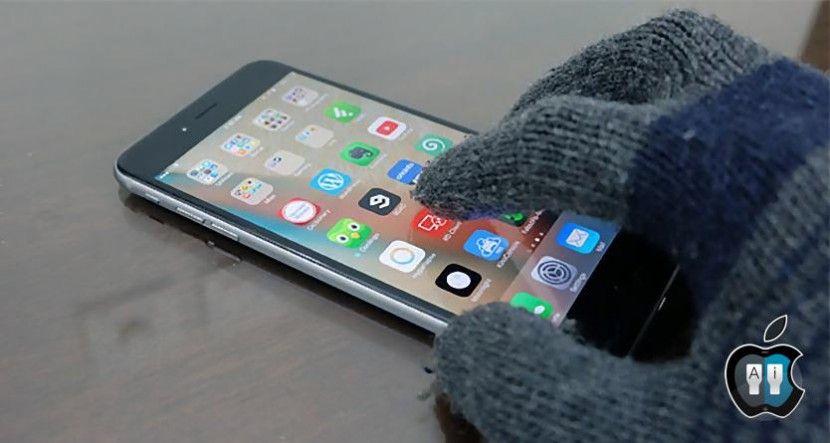 Lee En un futuro podríamos usar el iPhone incluso con guantes