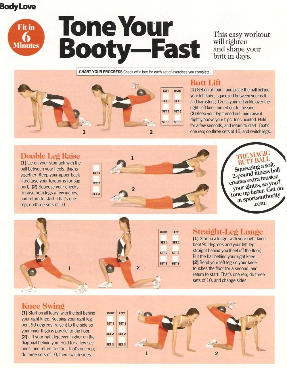 How To Tone The Butt 111