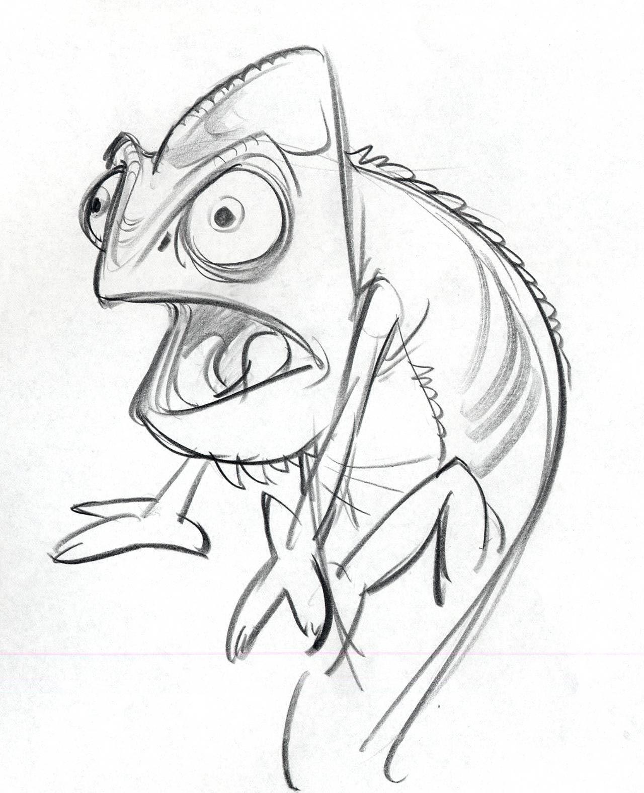 Прикольные рисунки мультяшных героев карандашом