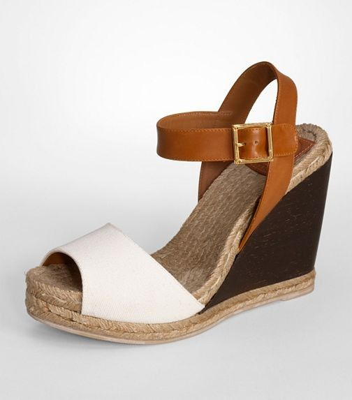 4ba795ed57ca Wood Wedge Espadrille by Tory Burch