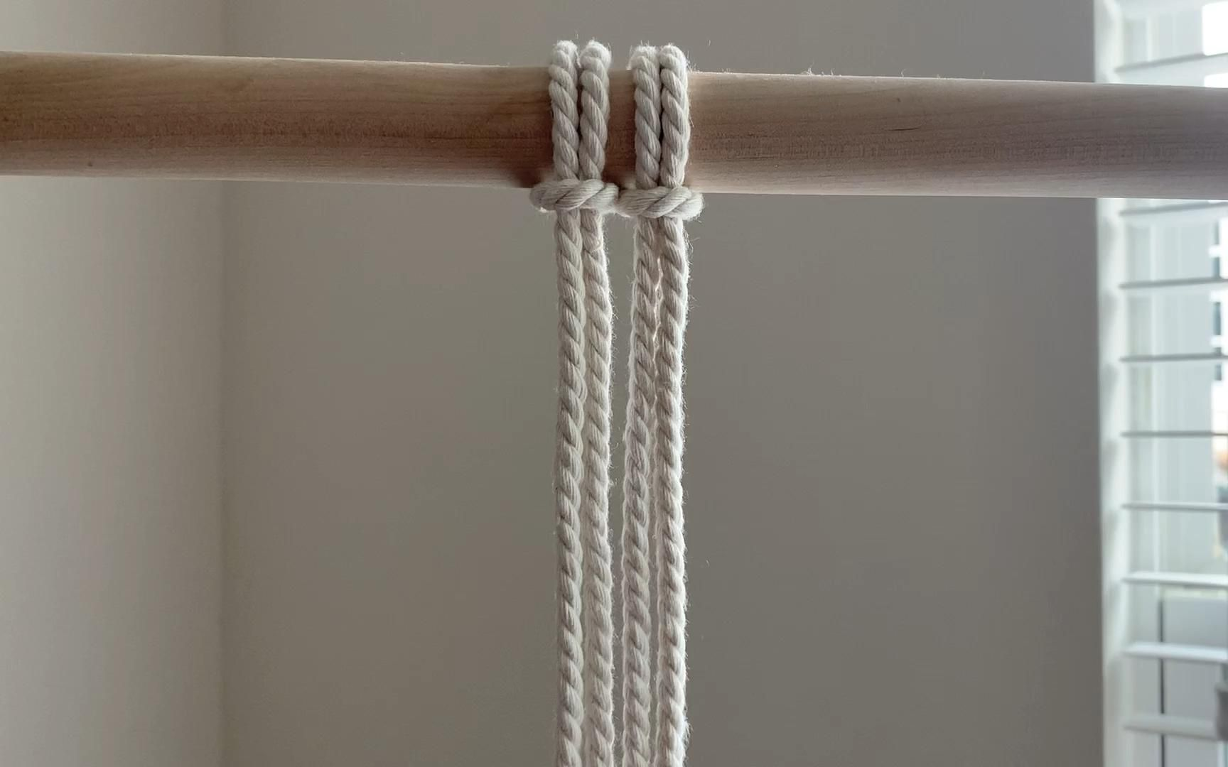 Photo of Decorative Macrame Knot, Paracord Knot
