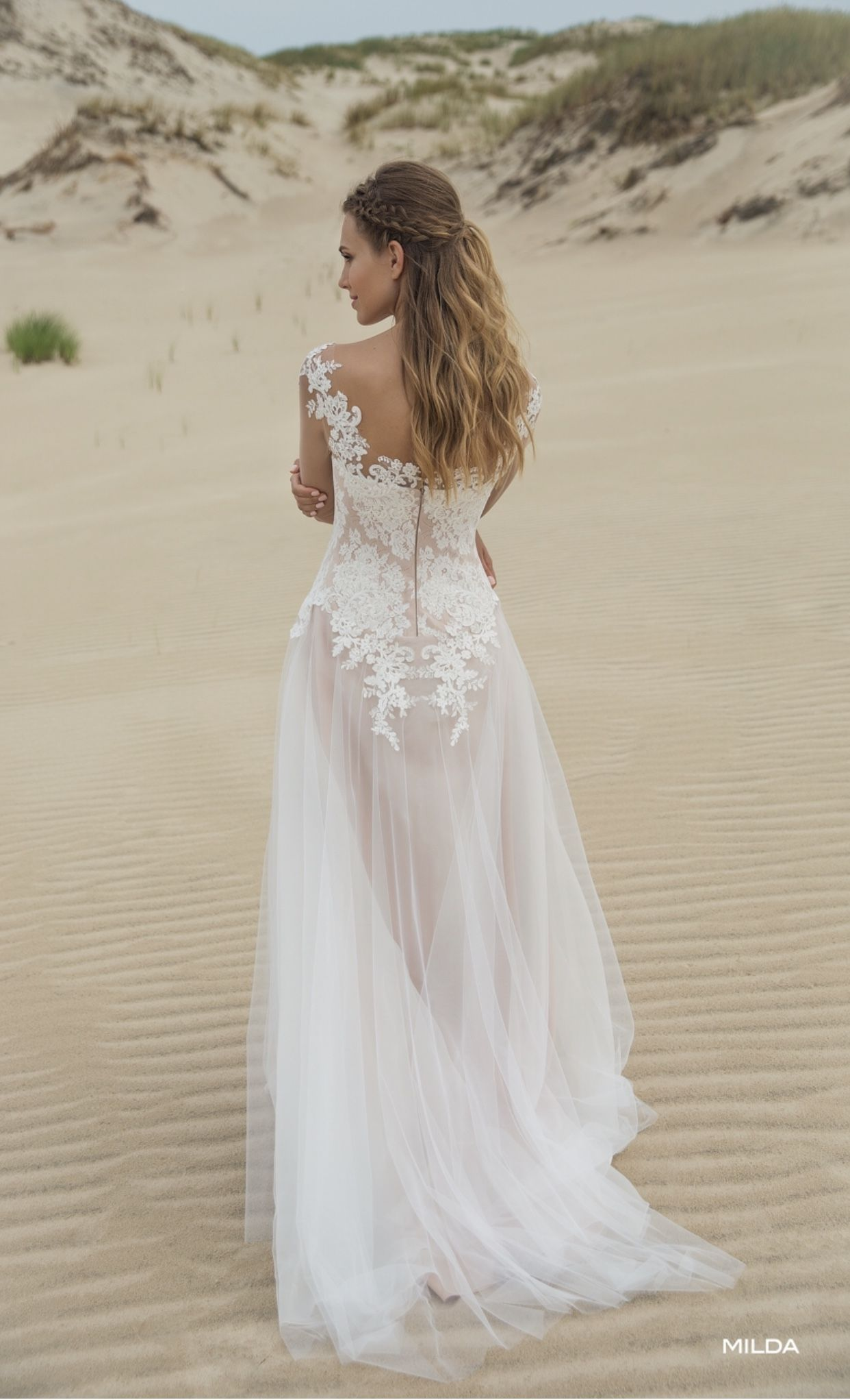 Boho Wedding dress Le Rina Milda -LIVAMOUR Brautmode  Kleid