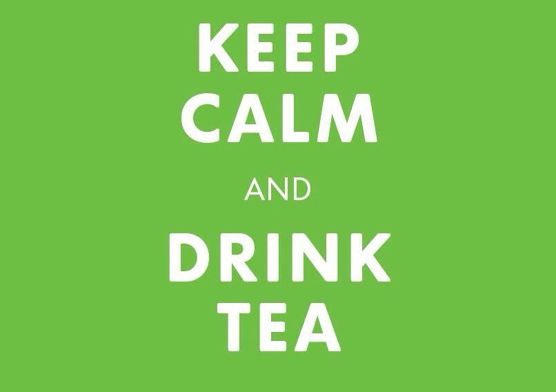 Drink Tea! (Especially with a good book!)