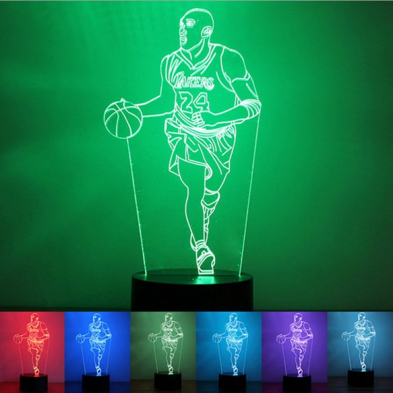 Veilleuse Led Lampe Led 3d Lampe Led Usb Lampe Table Lampe Bureau Decoration Creative Illusion Interrupteur Bouton Pous Night Lamps Led Night Light Night Light