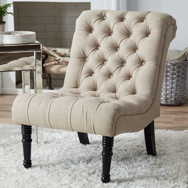 Clarke 24 Slipper Chair Upholstered Chairs Chair Wayfair