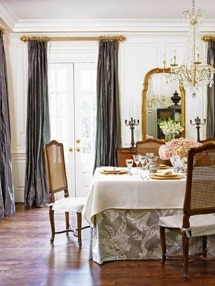 South Shore Decorating Blog A GREAT Idea For Budget Dining Table That Doesnt Look It