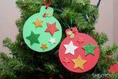 Nudelengel, Kronkorkenschneemann und Co. - Weihnachtsbasteln mit Kindern