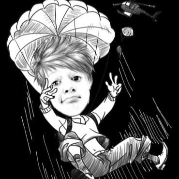 It's meeeeee! #boom #skydive #girlsweg