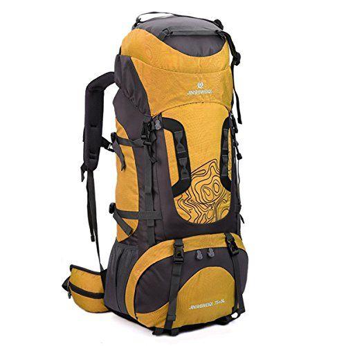 Outdoor Travel Hiking Camping Backpack Waterproof Rucksack Trekking Bag Pack 80L