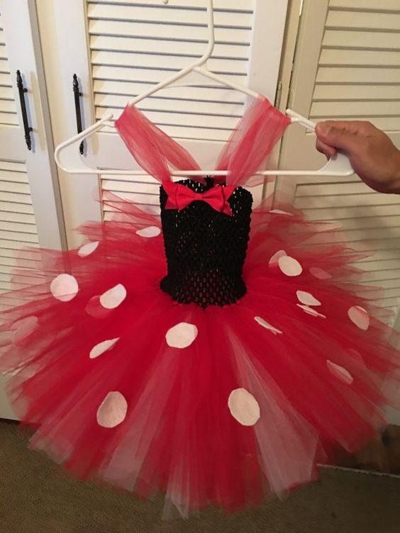 19f02c091 minnie mouse tutu   ✿.•* Children dress-up *•.✿   Christmas tutu ...