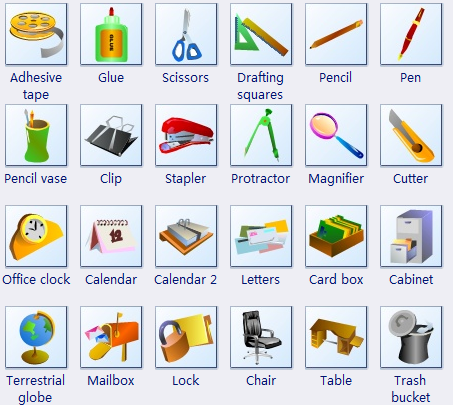 More Office Clip Art | Visual schedules | Pinterest | Clip art ...
