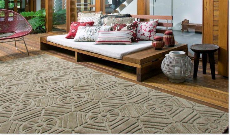 Boden Deko Ideen, Moderne Skulpturen Teppich Für Ihr Zimmer - moderne skulpturen wohnzimmer